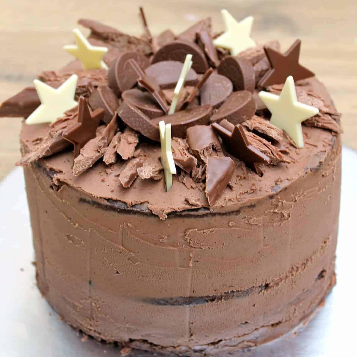Cake Birthday Images  Chocolate Birthday Cake BakingQueen74