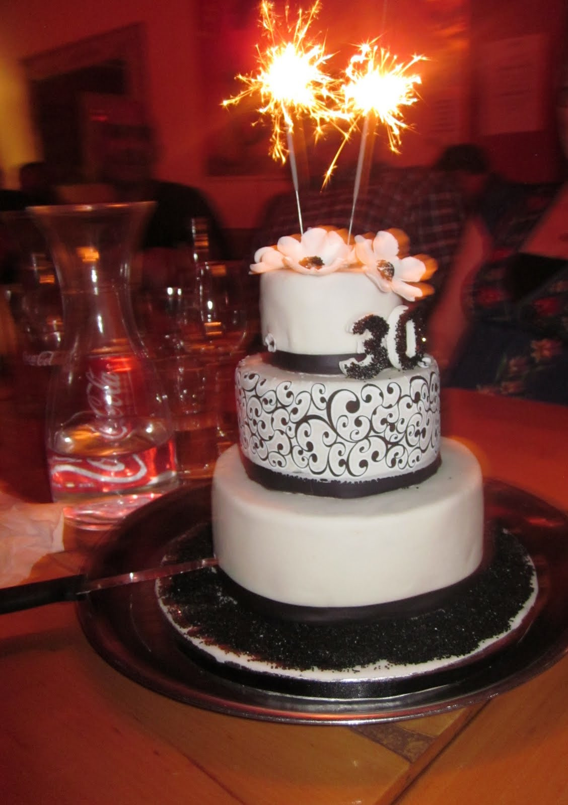 Cake Birthday Images  Deb s Cakes and Cupcakes My 30th Birthday cake