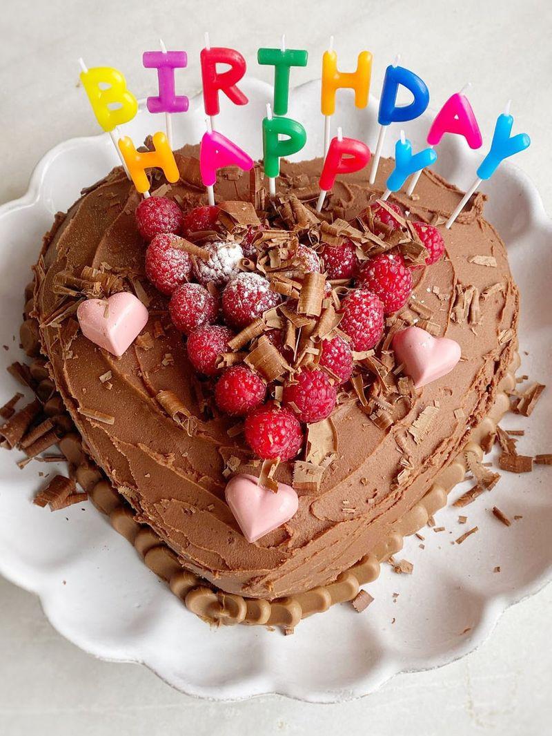Cake Birthday Images  Petal s birthday cake Cake recipes