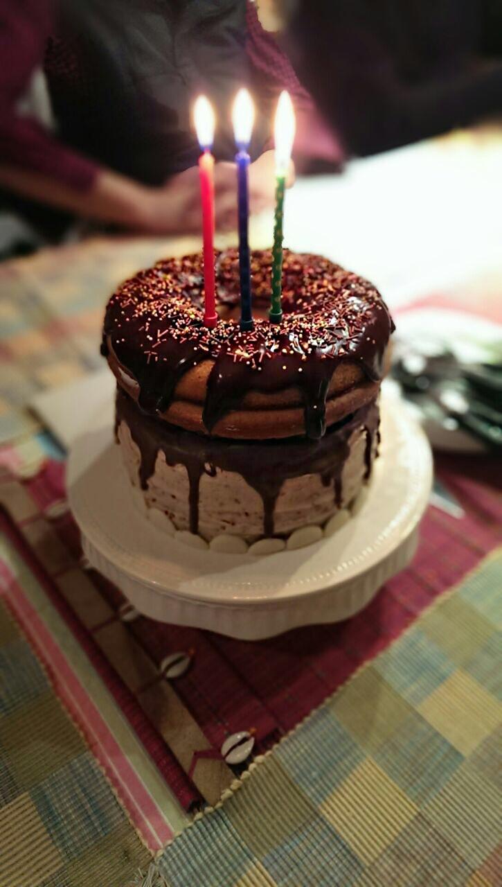 Cake Birthday Images  Giant Doughnut Birthday Cake – BakedByH
