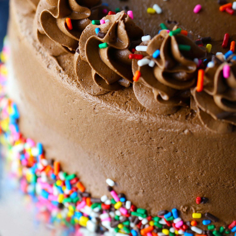 Cake Birthday Images  Chocolate Birthday Cake Mom Loves Baking