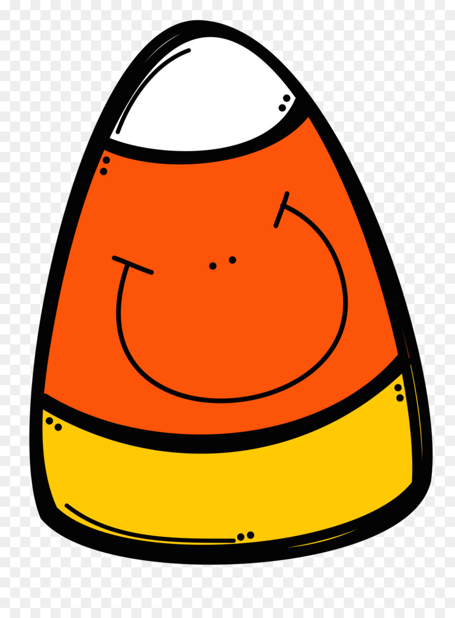 Candy Corn Clipart  Candy Corn clipart Yellow Smile Orange transparent