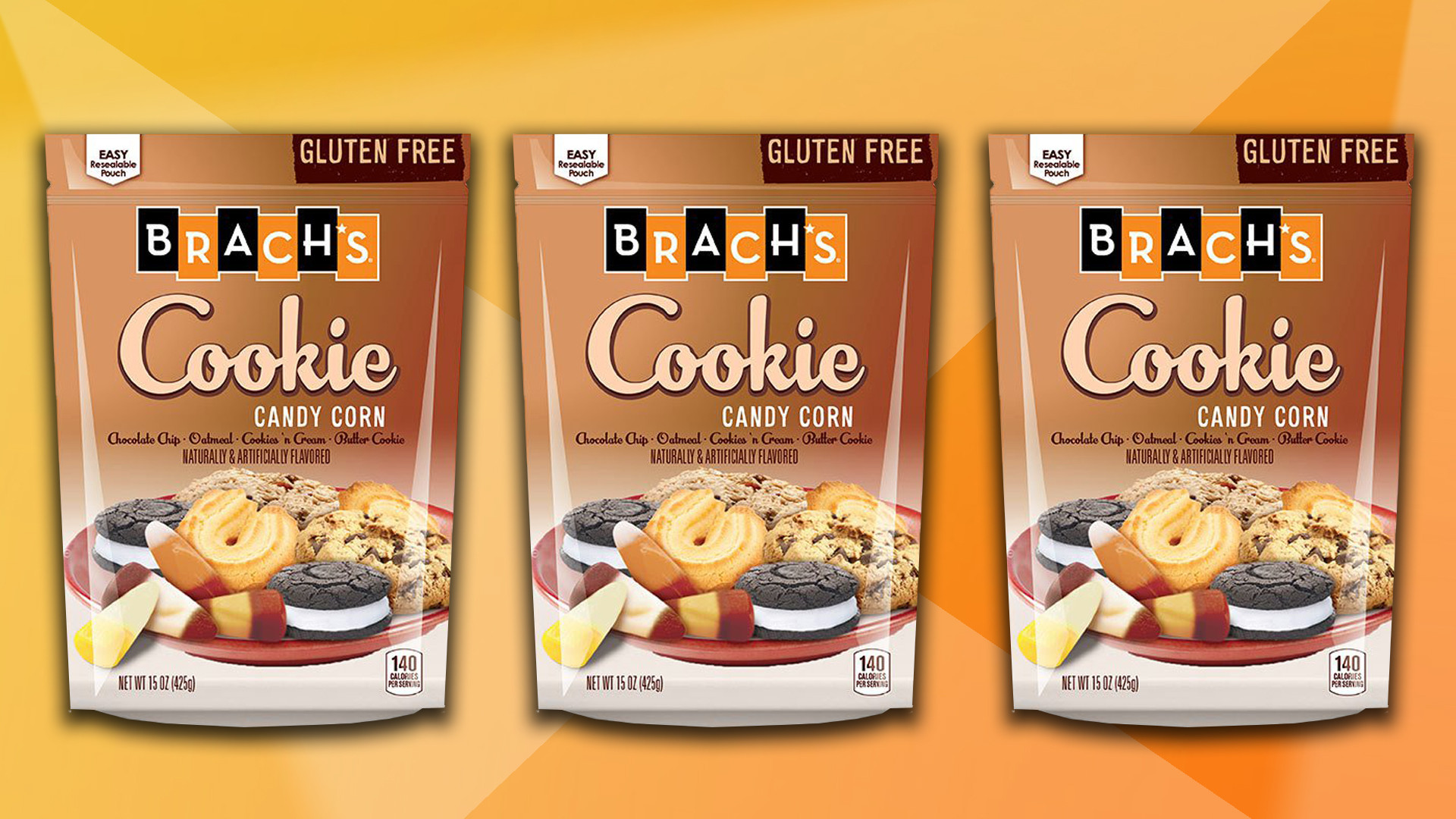 Candy Corn Flavors  Cookie flavored candy corn is here for Halloween TODAY