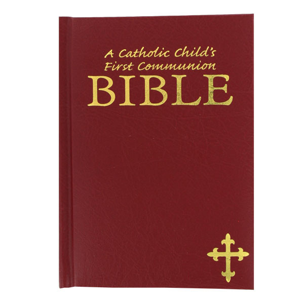 Catholic Children Gifts  Childs First munion Bible