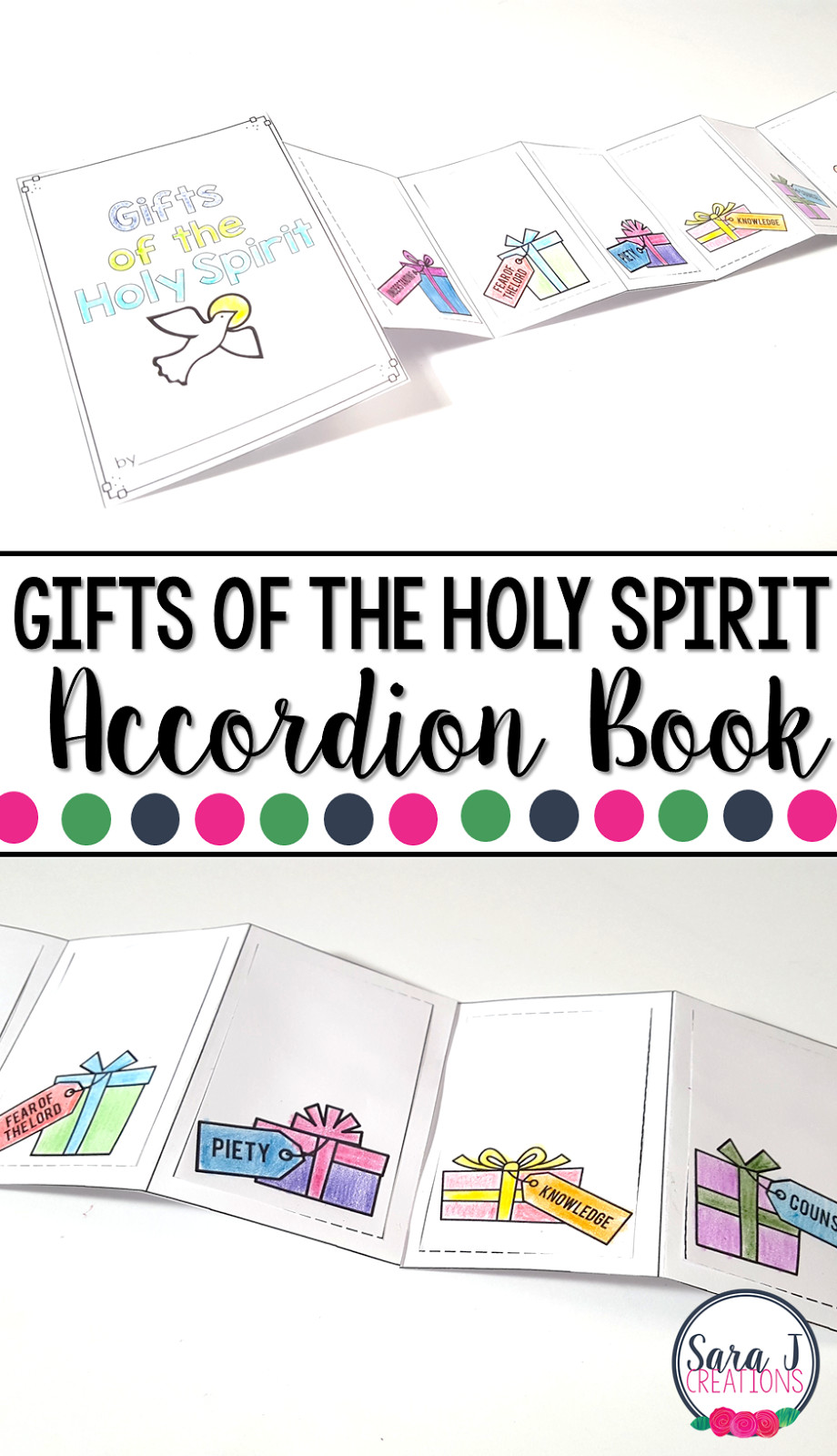 Catholic Children Gifts  Gifts The Holy Spirit Catholic Activities Gift Ftempo