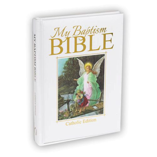 Catholic Children Gifts  My Baptism Bible for Catholic Children Ages 5 9