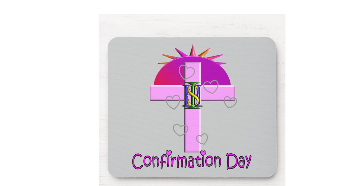 Catholic Children Gifts  Catholic Confirmation Day Gifts for Kids Mouse Pad