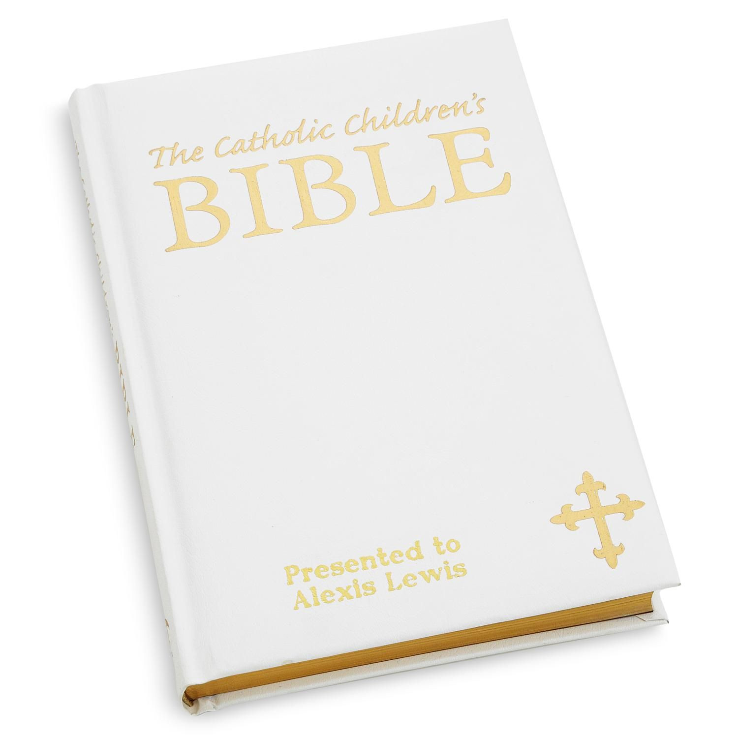 Catholic Children Gifts  Catholic Children's Bible White