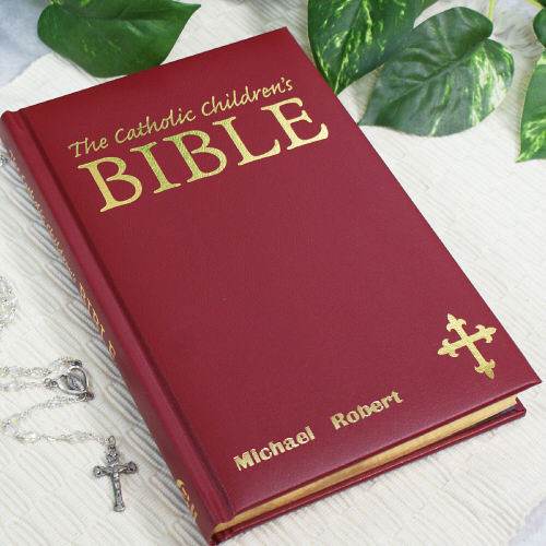 Catholic Children Gifts  Personalized Children s Bible