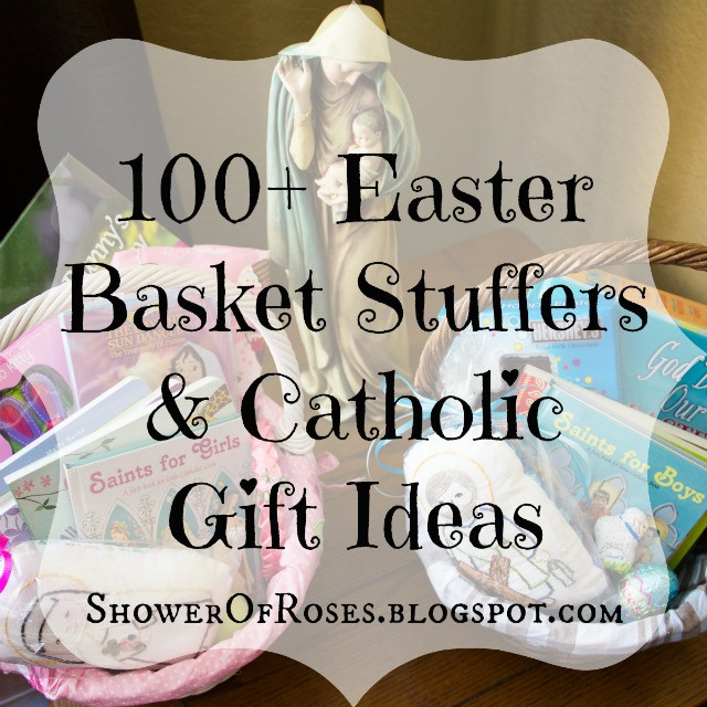 Catholic Children Gifts  Shower of Roses 100 Easter Basket Stuffers & Catholic
