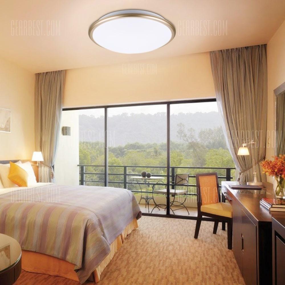 Ceiling Lights Bedroom  Buy Floureon 20W Round LED Ceiling Light 220V 6000