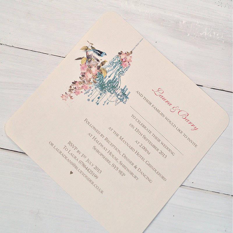 Chandelier Wedding Invitations  vintage chandelier wedding invitations by beautiful day
