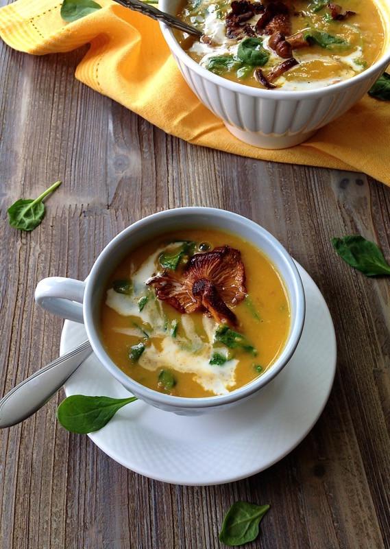 Chanterelle Mushrooms Soup  Chanterelle Mushroom Soup • CiaoFlorentina
