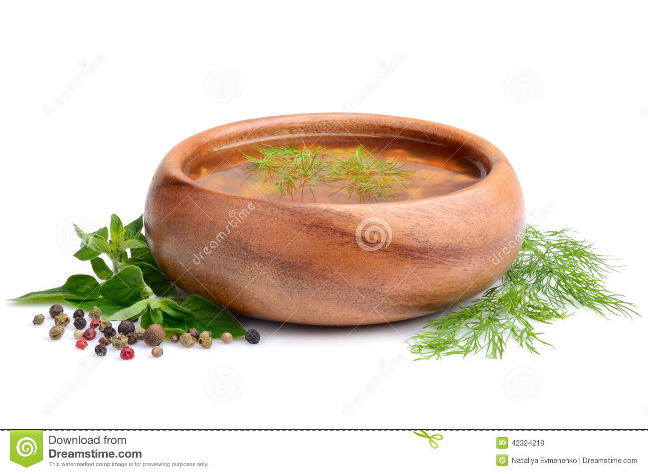 Chanterelle Mushrooms Soup  Chanterelle mushrooms soup stock photo Image of food