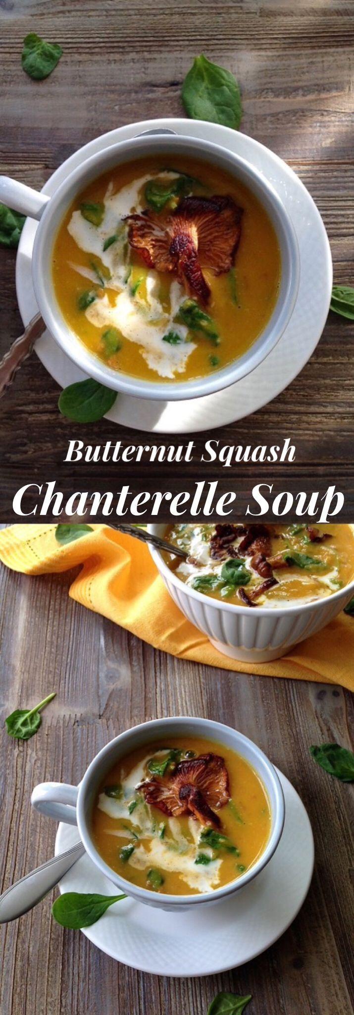 Chanterelle Mushrooms Soup  Chanterelle Mushroom Soup Recipe