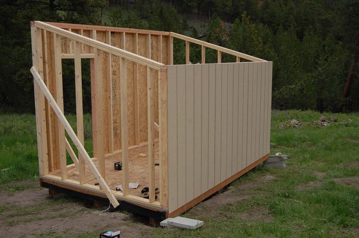 Cheap Backyard Sheds  How To Build A Cheap Storage Shed A cheap storage shed is