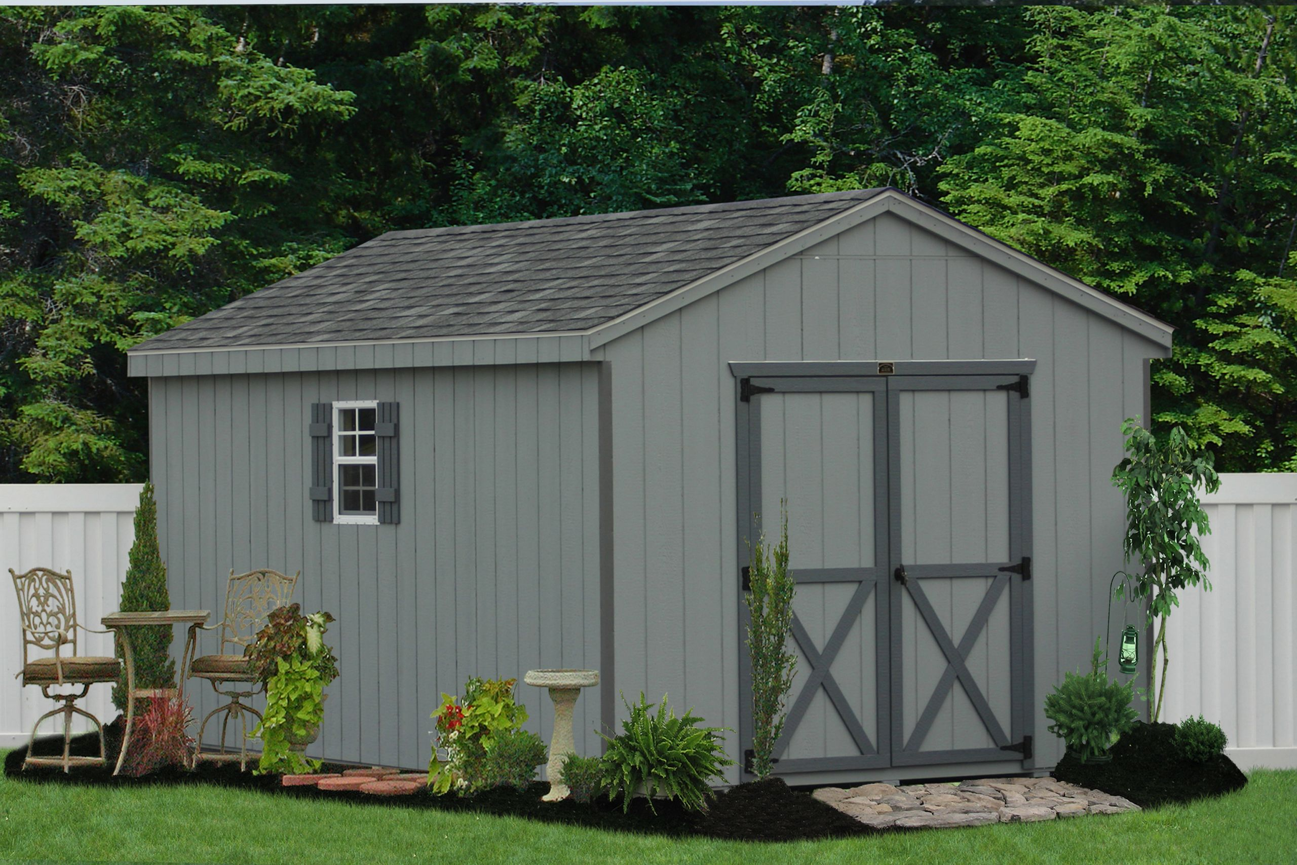Cheap Backyard Sheds  Build shed Workshop wooden sheds