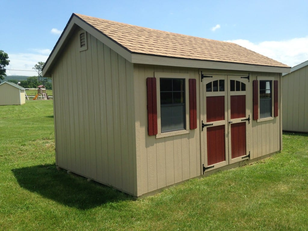 Cheap Backyard Sheds  SOLD 1985 10×16 Wooden Storage Shed For Sale $3080
