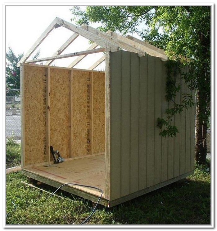 Cheap Backyard Sheds  Build A Storage Shed Cheap