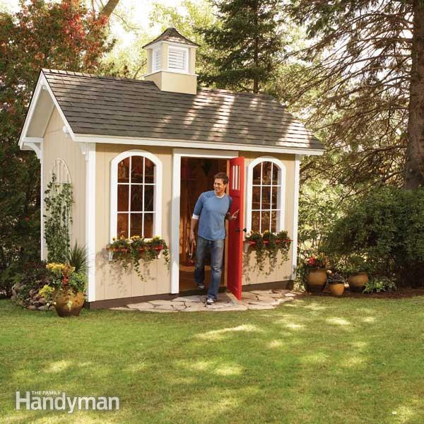 Cheap Backyard Sheds  How to Build a Cheap Storage Shed