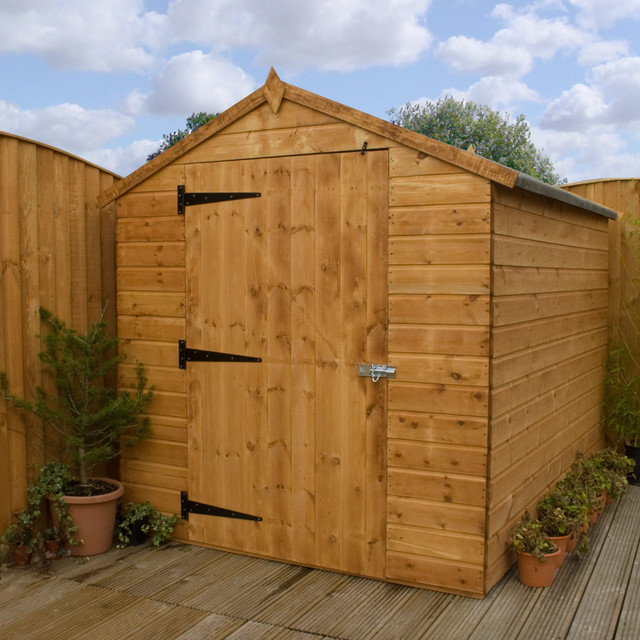 Cheap Backyard Sheds  Sheds Ottors 4 x 6 wood storage shed
