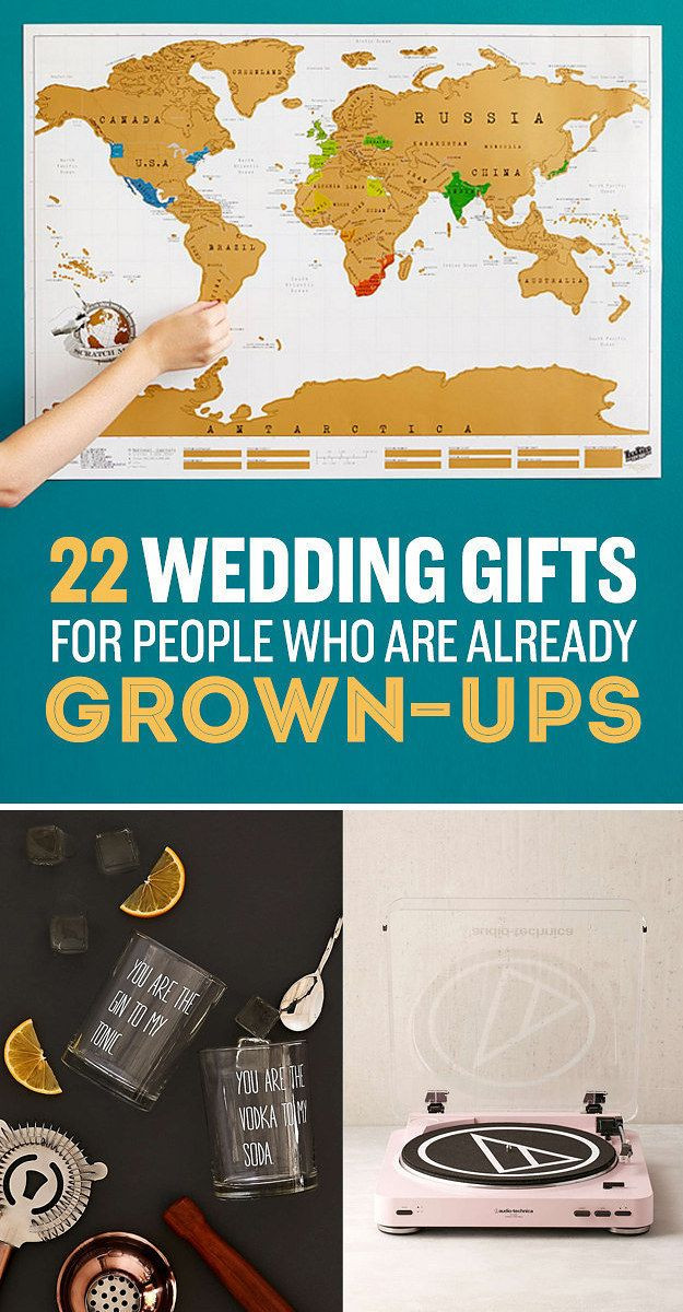 Cheap Gift Ideas For Couples  22 Wedding Gifts For Couples Who Already Have It All