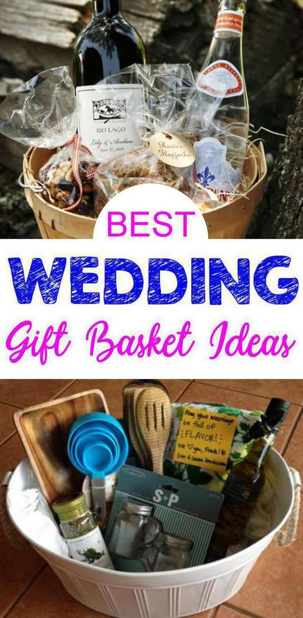 Cheap Gift Ideas For Couples  BEST Wedding Gift Baskets DIY Wedding Gift Basket Ideas