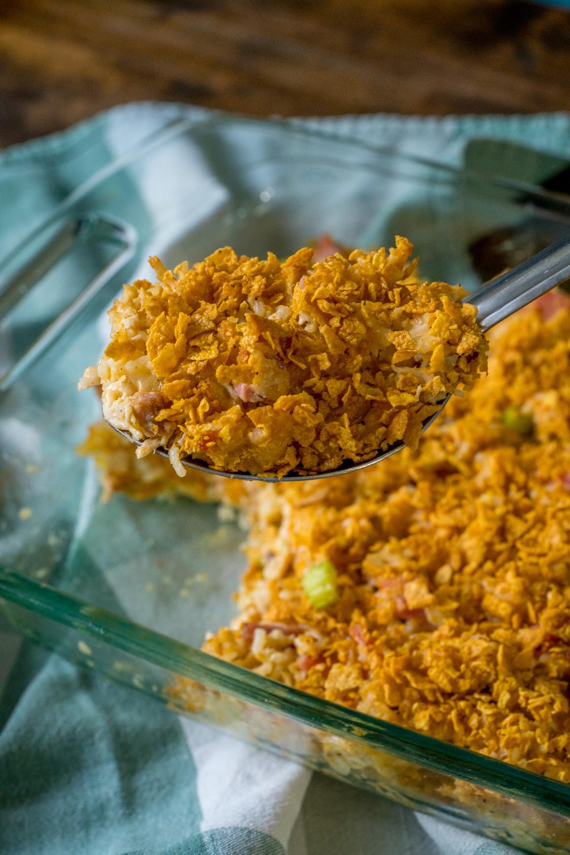 Chicken And Ham Casserole  Rotisserie Chicken and Ham Casserole – 12 Tomatoes