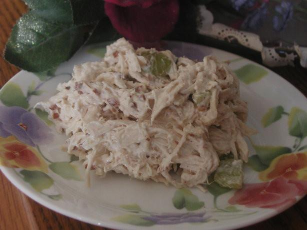 Chicken Salad With Grapes Recipe Paula Deen  Paula Deens Pecan Chicken Salad Recipe Food