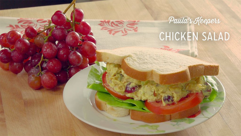 Chicken Salad With Grapes Recipe Paula Deen  Chicken Salad