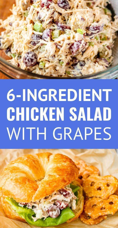 Chicken Salad With Grapes Recipe Paula Deen  Chicken Salad with Grapes and Pecans this easy chicken