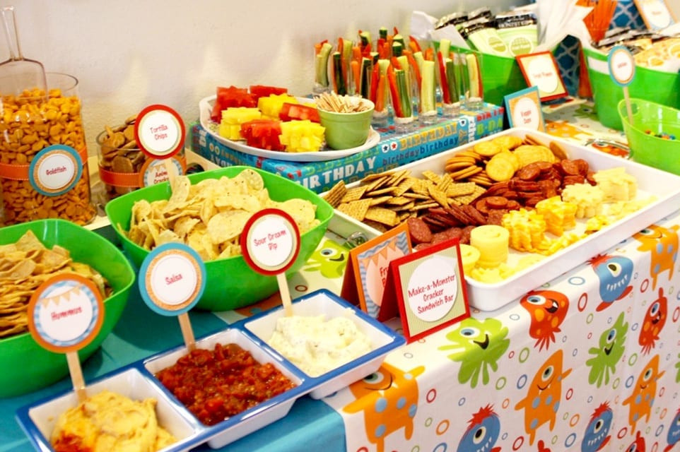 Children Birthday Party Food Ideas  Kids Party Food Kids Party Catering