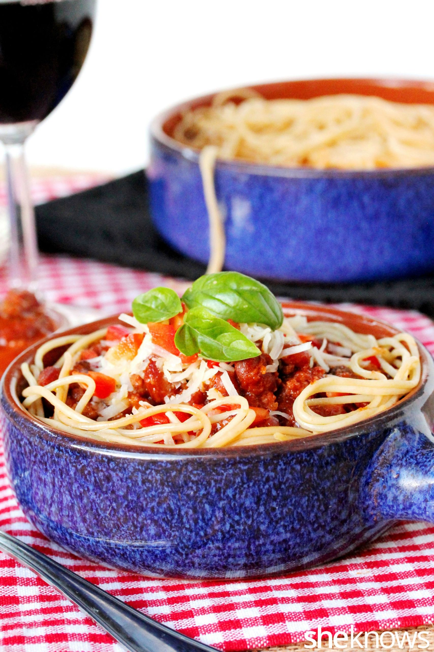 Chili On Spaghetti  4 Delicious ways to use up your leftover chili