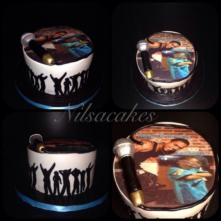 Chris Brown Birthday Cake  Chris Brown cake Cake by Nilsa