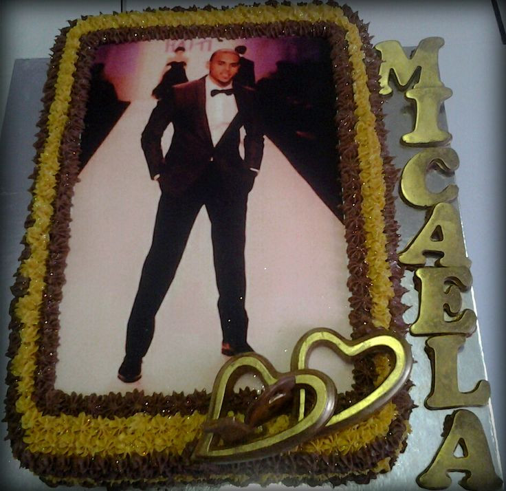 Chris Brown Birthday Cake  17 Best images about Birthday Cakes on Pinterest