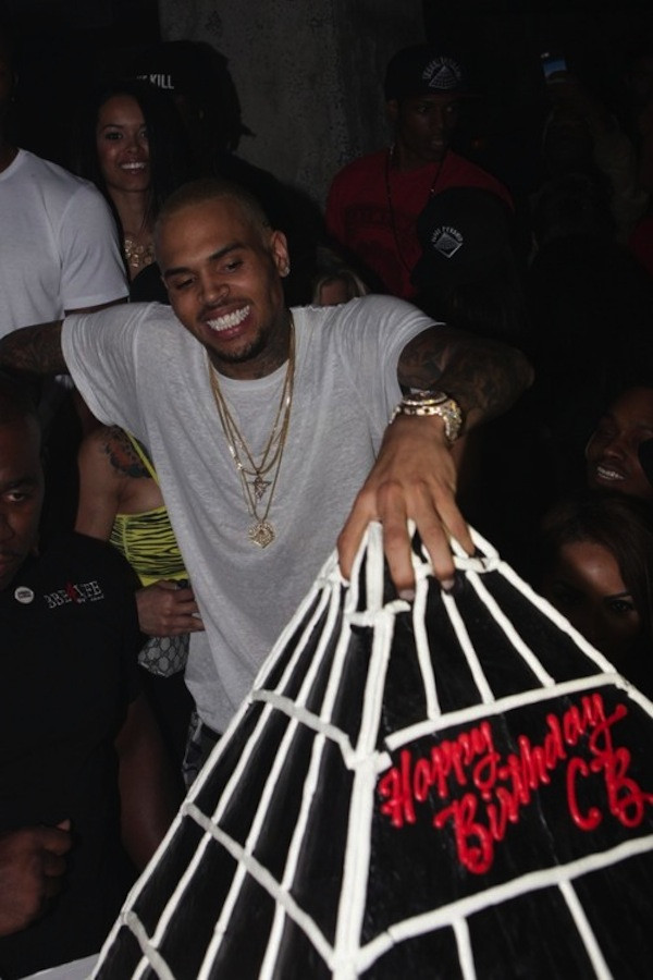 Chris Brown Birthday Cake  Ashmark Olakunle s Blog Chris Brown Shows f His