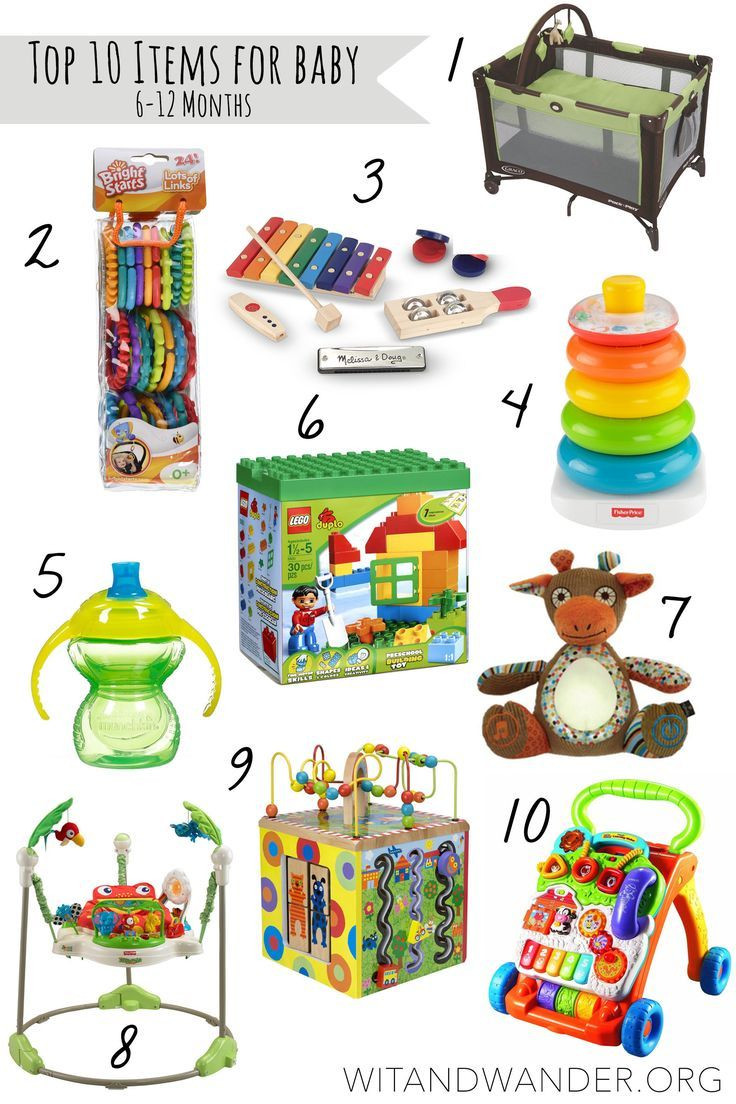 Christmas Gift Ideas For 6 Month Baby Girl  Top 10 Must Haves for Babies 6 12 Month Old