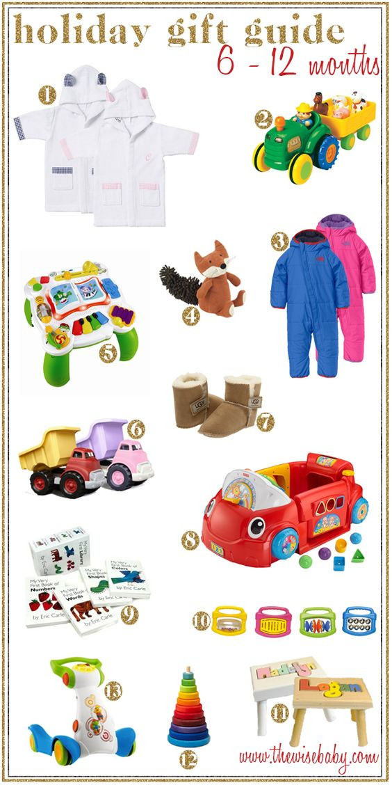 Christmas Gift Ideas For 6 Month Baby Girl  A thorough list of Holiday Gift Ideas for those busy 6