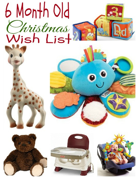 Christmas Gift Ideas For 6 Month Baby Girl  Gift Ideas For Kids My 6 Month Old's Christmas Wish List