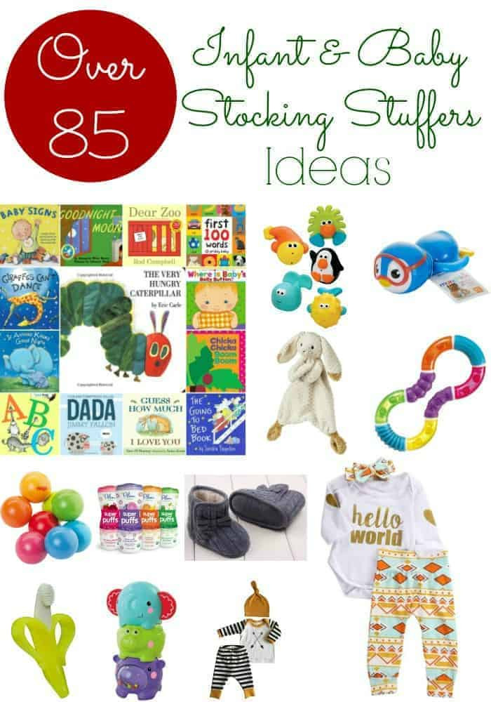 Christmas Gift Ideas For 6 Month Baby Girl  Baby Stocking Stuffers Over 85 Stocking Stuffer Ideas