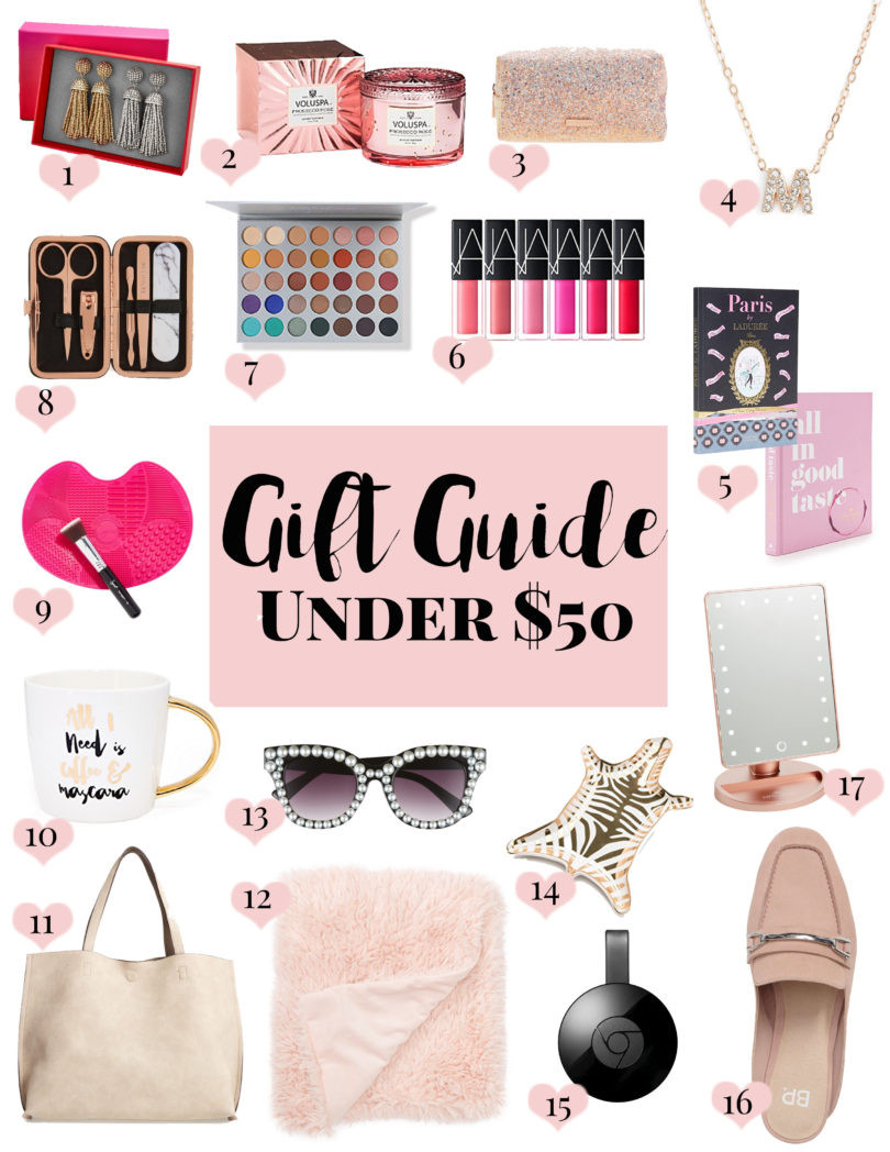 Christmas Gift Ideas For Couples Under 50  Gift Guide Christmas Gifts Under $50 • a Sparkle Factor