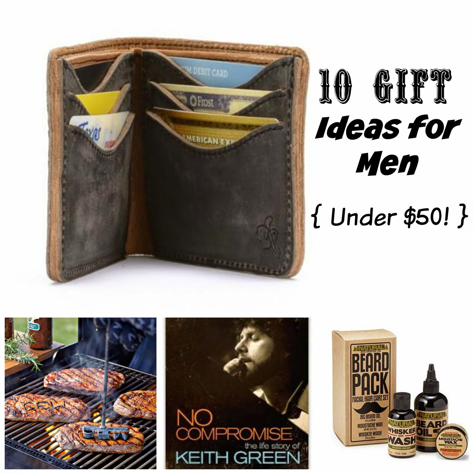 Christmas Gift Ideas For Couples Under 50  Where Joy Is 10 Gift Ideas for Men Under $50