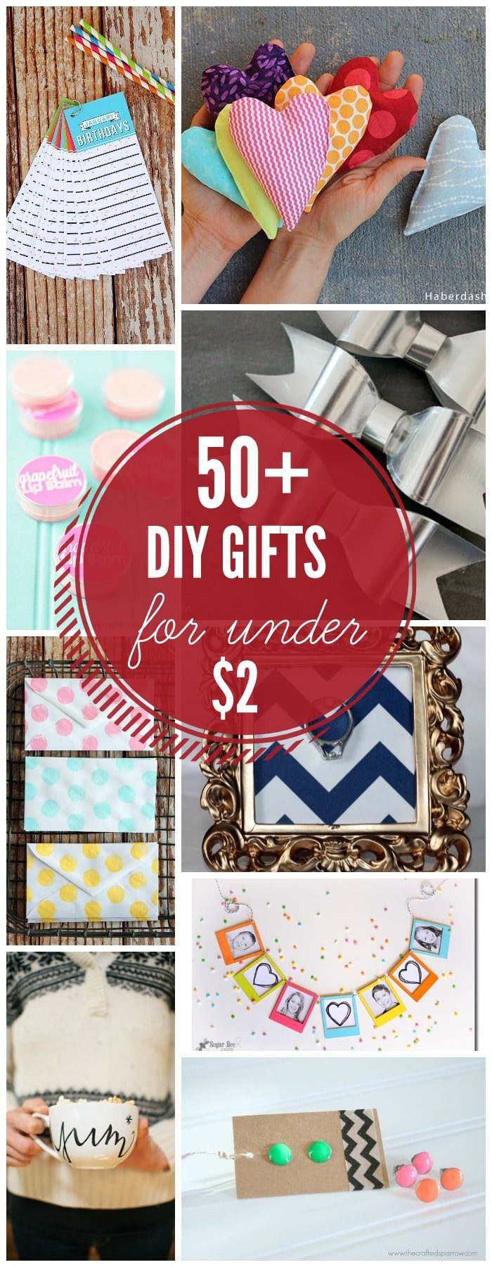 Christmas Gift Ideas For Couples Under 50  DIY Gifts Under $2