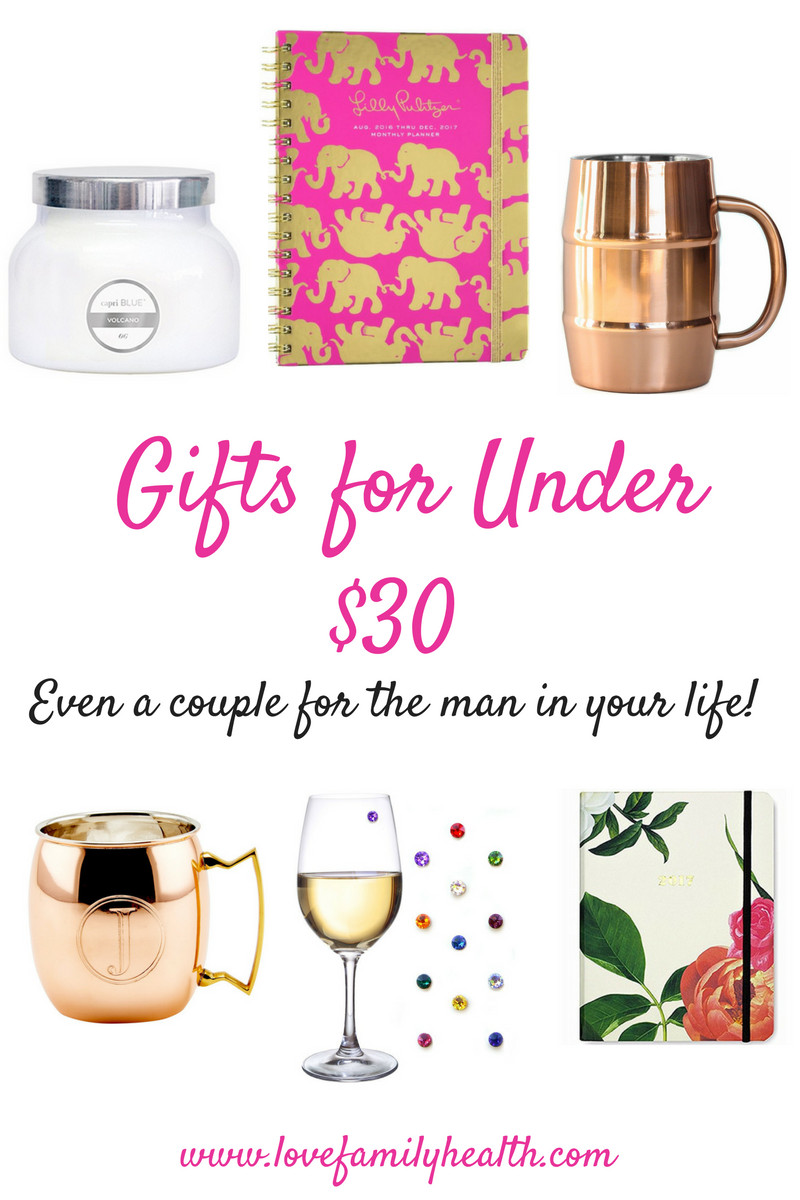 Christmas Gift Ideas For Couples Under 50  Gifts Ideas for Under $30