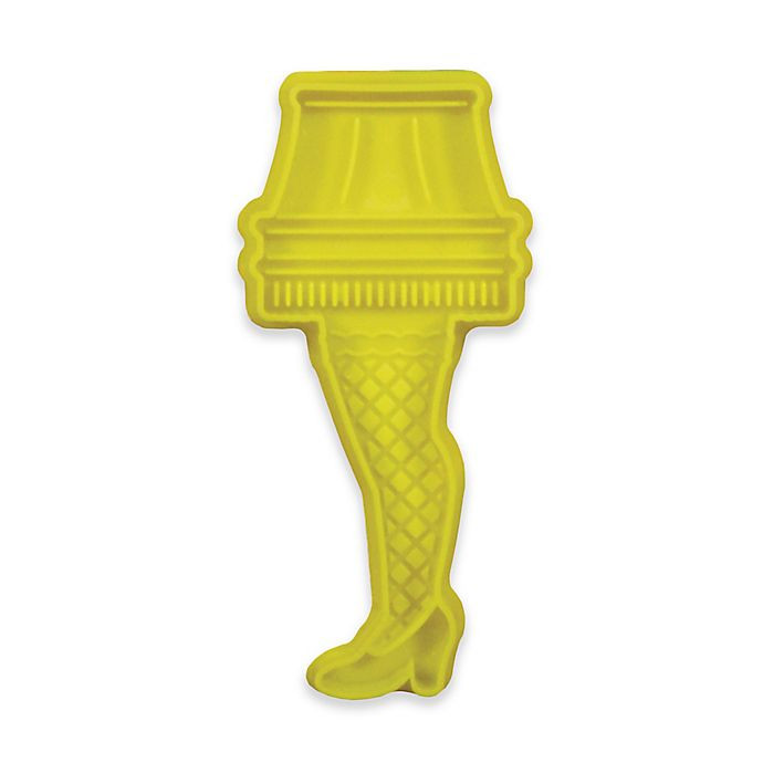 """Christmas Story Leg Lamp Cookies  Icup """"A Christmas Story"""" Leg Lamp Cookie Cutter"""