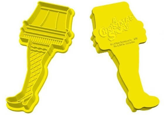 Christmas Story Leg Lamp Cookies  Careful These Leg Lamp Cookies Are Frag ee lay