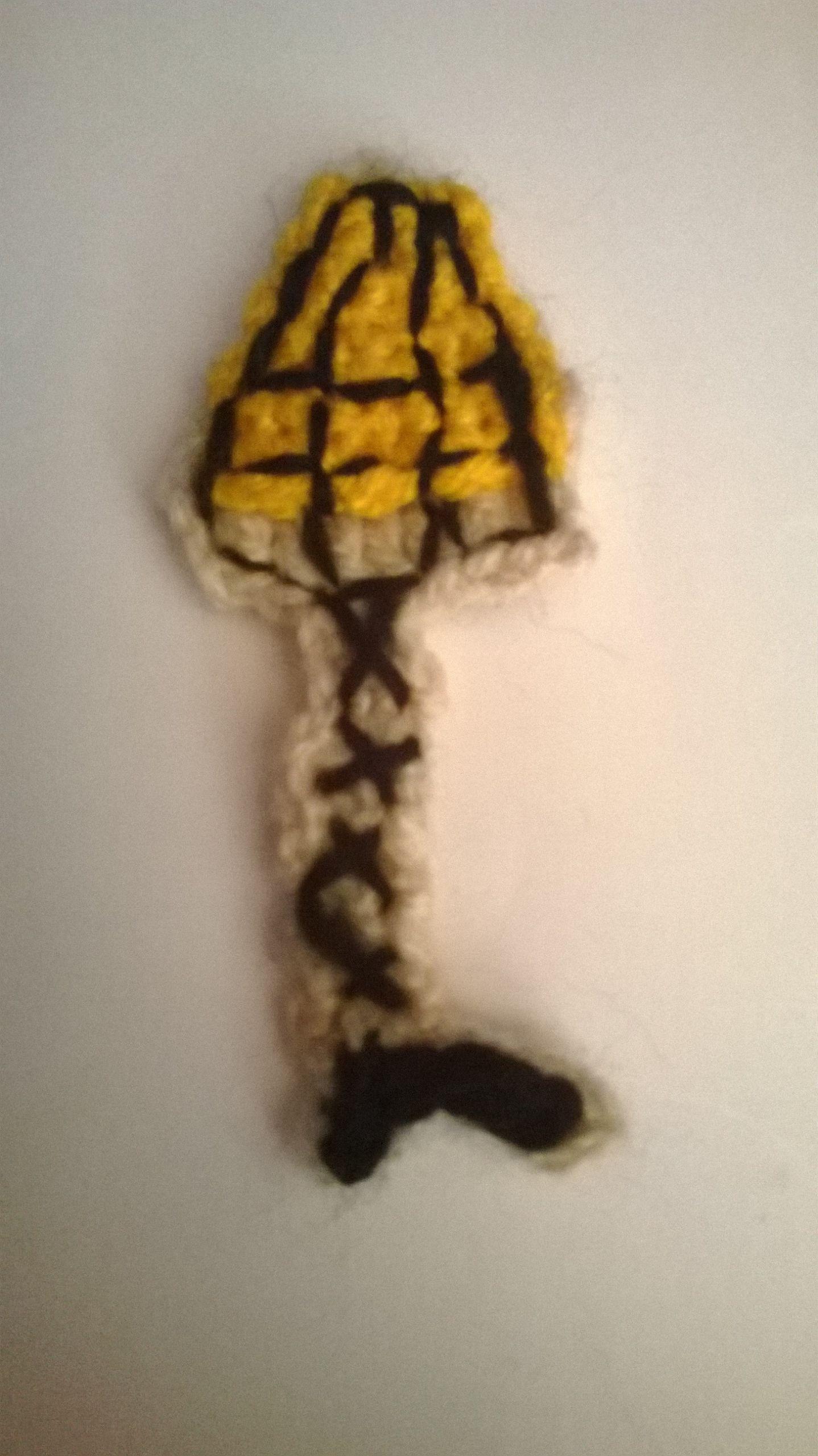 Christmas Story Leg Lamp Cookies  Crocheted leg lamp cookie
