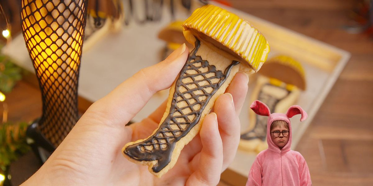 Christmas Story Leg Lamp Cookies  How to Make Leg Lamp Cookies Video Delish