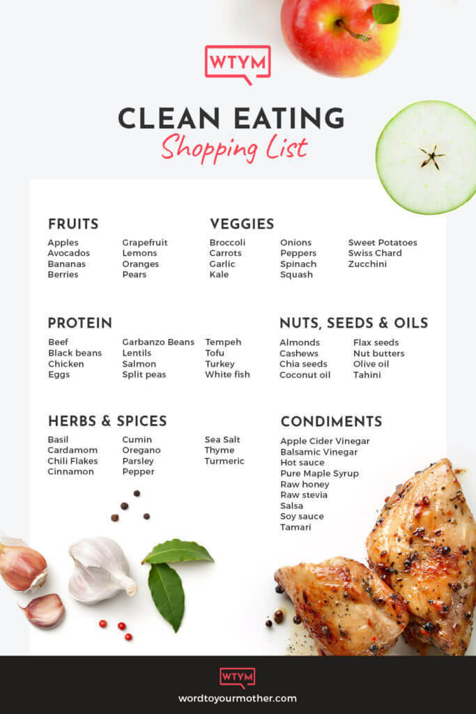 Clean Eating Diet Weight Loss  21 Day Healthy Meal Plan for Weight Loss
