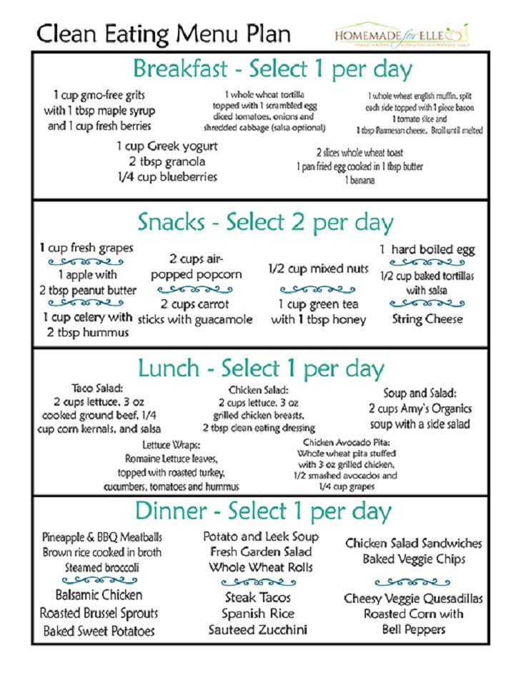 Clean Eating Diet Weight Loss  12 Trending Clean Eating Diet Plans to Lose Weight Fast